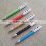High quality environment business colours kraft paper barrel pen