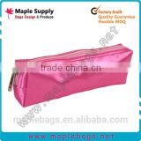 Small Basics Cosmetic Bag Pink Solid Color