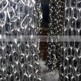 Stainless steel link chain for marine industry, 316 grade with good corrosion resistance and popular type