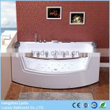 China factory direct sale 2 person jetted clear bathtubs with led light                                                                         Quality Choice