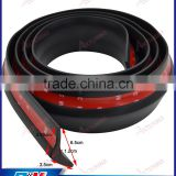 Stylish Looking Racing Carbon Look lip skirt adhesive bumper protector