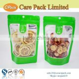 Hot selling clear dried fruit packging aluminum foil zipper bag                                                                         Quality Choice