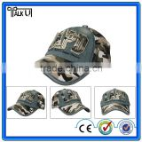 Camo snapback caps and hats wholesale baseball cap with 3D Embroidery