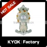 KYOK Factory direct sale curtain accessories,stainless steel shower curtain hooks with bottom price