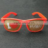 Bulk stock cheap wholesale plastic party pinhole sunglasses                                                                         Quality Choice