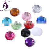 Flatback round Crystal ,Sewing Crystal Button Beads without holes Sew On Cabochon ,Buttons For Sew Crystal