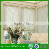 PVC white faux wood customed made window blinds best price foaming embossed curtain blinds in alibaba website
