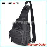 High Quality Softback Black worthful durable nylon crossbody bag