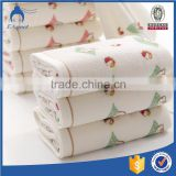 2016 high quality softly cotton baby face cloth