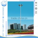 Manufacturer design Q235 pole aluminum light head high mast lighting tower waterproof led light