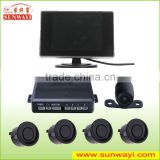 Hottest high quality visual reversing parking sensor with BIBI/voice warning quto park control system