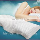 100% polyester memory foam pillow forchina facotry memory foam pillow LS-P-008-D medicated pillow