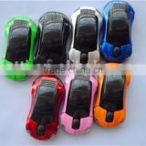 2.4Ghz colorful car-shape wireless mouse at factory price