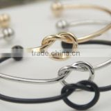 Simple Design Pure Copper Casting Love Knot Bracelet