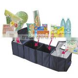 4-Section Foldable Trunk Organizer and Cooler Set