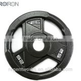 Black Round Weight Plate, cast iron weight plate