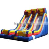adult size pvctarpaulin inflatable water slide parts