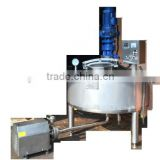 Good quality stainless steel heating and mixing tank