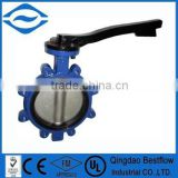 API609 carbon steel lug type butterfly valve                                                                                                         Supplier's Choice