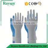 Vinyl disposable gloves / pvc glove / vinyl powder free examination gloves for medical food industry