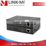 LM-EHP100 330ft/100m HDBaseT HDMI Extender Transmitter Receiver Over Cat5e/6 Support Bi-directional IR Control With POE