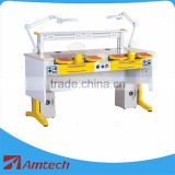 Promotion! CE approved 1.8m length twin dental lab working bench/ dental workstation AMJ-56