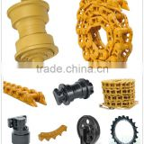 PC60,PC100,PC200 Undercarriage Part, Track Shoe, Track Link, Track Conveyor Chain, Roller, Idler, Sprocket
