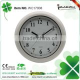 5 inch waterproof wall clock