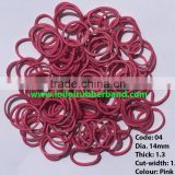 Durable Latex Rubber Band for Stationery, Household and Agricultural from Flexible Gold Supplier