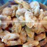 frozen yellow baby clam meat top shell meat