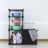 Plastic Tidy Organizer Racks Cabinet Bathroom Storage Holder(AL0610-1A)