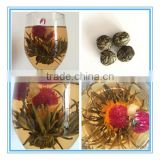 Chinese High Quality Artistic Green Blooming Tea Individual Wrapped