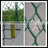 beautiful airport fence railway fence /cheap pvc coated chain Link Fence & Wire mesh/ malla de alambre de diamante,valla