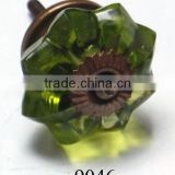 Decorative Indian Glass Door Knobs
