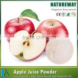 Factory 100% natural instant soft drink powder apple juice powder