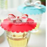 Hot sales ! Newest colorful creative silicon cup cover lid silicone tea cup lids silicone mug cup lid