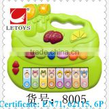 2015 hot sale electronic educational keyboard musical instrument for kids/ popular keyboard learning machine toys