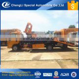 CLW high end good performance 4x2 3 ton 4 ton wrecker truck for towing fault car