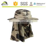 Protective removable outdoor spring summer sun hat /fisherman fishing hat/custom fishing bucket hat with string