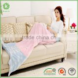 China Flannel Throw Soft Adult Mermaid Tail Blanket