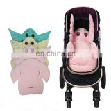 new Waterproof Baby Stroller Cushion Rainbow Baby Car Seat Cushion Chair Pad
