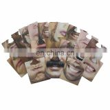 novelty drinking game favor Face coaster Funny Mats nose mask