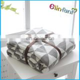 Elinfant best price blanket in china crochet knitted blanket
