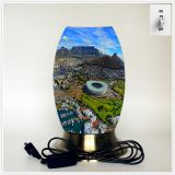 Creative lamp, decorative table lamp, LED desk lamp, South African culture series table lamp (Dzaf003)