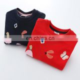New arrival children tops wholesale children's boutique hoody clothing cute baby girl clothes