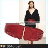 BT0640 2018 Hot-Selling Fahion Elastic Braided Belt For Women Belt Leather for Fashion Dress