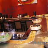 Wear-Resistant Rust-Free Beautiful Color Delicate Patterns Conveyor belt sushi system