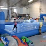 Durable inflatable football court inflatable soccer court inflatable playground for outdoor sports