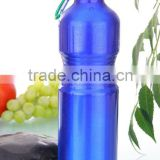 750ml aluminum sport water bottles with heat transfer logo and carabiner lid                                                                         Quality Choice