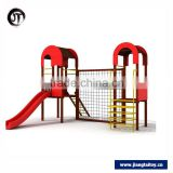 Factory Outlet Wood Plastic Composite Attractive Outdoor Playground Equipment For Children